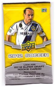 2012 Upper Deck MLS Soccer X 12 Packs